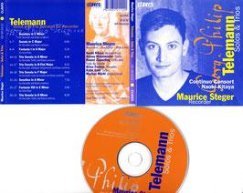 Maurice Steger - Georg Philip Telemann Solos & Trios -CD-