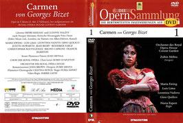 Carmen von Georges Bizet -DVD- Die Opernsammlung DeAGOSTINI Zubin Metha