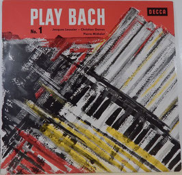Jacques Loussier, Christian Garros, Pierre Michelot - Play Bach No. 1 -Vinyl-LP-
