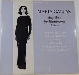 Maria Callas - Maria Callas singt ihre berühmtesten Arien -Vinyl-LP-