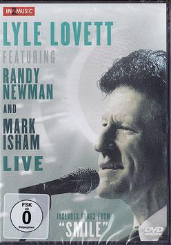 Lyle Lovett feat. Randy Newman and Mark Isham - Live -DVD- NEU/ OVP