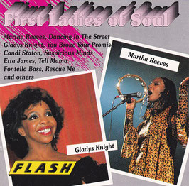 V. A. - First Ladies Of Soul -CD- Martha Reeves, Gladys Knight, Etta James