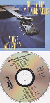 Buddy Guy & Junior Wells - Alone & Acoustic -CD- France
