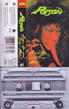 Poison - Open Up And Say ... Ahh! Kassette/ Tape C4-48493