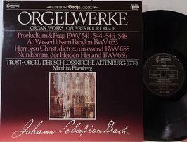 Bach - Orgelwerke -Vinyl-LP- Eisenberg Edition Bach Leipzig DMM Capriccio 26 303-8