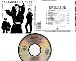 Psychedelic Furs - Midnight To Midnight -CD- CK 40466 US Press