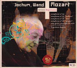 Eugen Jochum, Wand - Mozart symphonies 33, 35, 36 & 38 -DoppelCD- Digipack