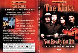 The Kinks - You Really Got Me -DVD- NEU/ Ungespielt DVD 1: The Inside Story...
