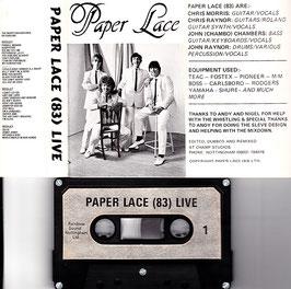 Paper Lace - Paper Lace (83) Live -Kassette/ Tape- Rare