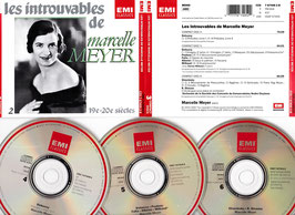 Les Introuvables de Marcelle Meyer -3CD-Box-  Box 2 CZS 7 67405 2 B