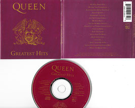 Queen - Greatest Hits -CD- HR-61265-2 US Press Hollywood Records