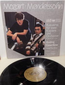 Mozart Mendelssohn - Konzerte für 2 Klaviere und Orch. -Vinyl-LP- Gawrilow Thai Shon