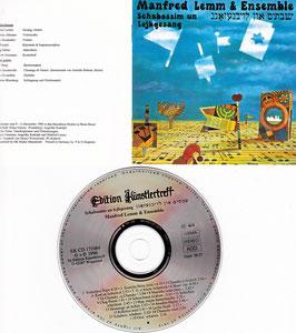 Manfred Lemm & Ensemble - Schabossim un Lojbgesang -CD- EK CD 171064