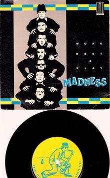 "Madness - Work Rest & Play -7""Single- Stiff Records"
