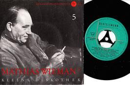 """Mathias Wiemann - Mathias Wiemans Kleine Diskothek 5. Folge -7""""Single-"""