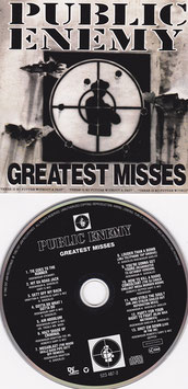 Public Enemy - Greatest Misses -CD-