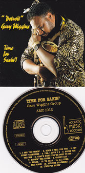 """Detroit"" Gary Wiggins - Time for Saxin´! -CD- Gary Wiggins Group"