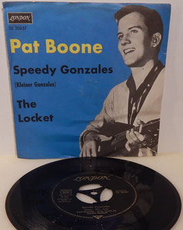 "Pat Boone - Speedy Gonzales -7""Single- DL 20637 London Records"