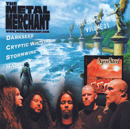 V. A. -  The Metal Merchant Volume 21 -CD- Darkseed Cryptic Wintermoon Stormwind