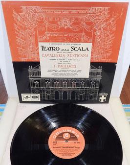 Teatro Alla Scala - Cavalleria Rusticana I Pagliacci -Vinyl-LP- Callas Serafin