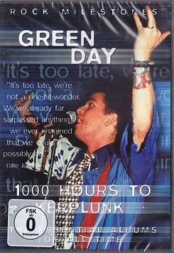 Green Day - 1000 Hours To Kerplunk -DVD- NEU/ OVP Rock Milestones