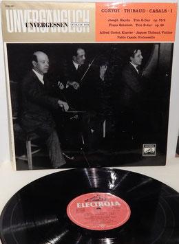 Unvergänglich Unvergessen Folge 103 - Cortot Thibaud Casals -Vinyl-LP-