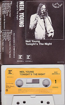 Neil Young - Tonight´s The Night Kassette/ Tape REP 454 040-J