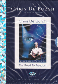 Chris De Burgh - The Road To Freedom -DVD- NEU/ OVP Live In Concert