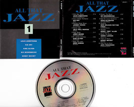 V. A. - All That Jazz 1 -CD- Armstrong Bechet Jelly Roll Morton