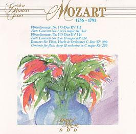 W. A. Mozart - Flötenkonzerte -CD- Lizzio Golden Master Series