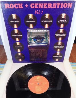 V. A. - Rock Generation Vol. 1 -Vinyl-Doppel-LP- US