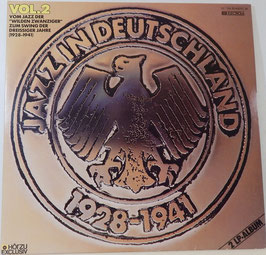 V. A. - Jazz In Deutschland Vol. 2 -Vinyl-Doppel-LP- 1928-1941