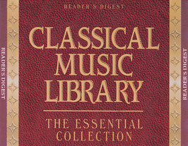 Classical Music Library - The Essential Collection -4CD-Box- Reader´s Digest