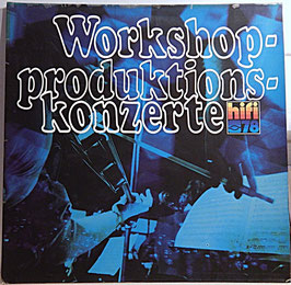 Workshop-Produktionskonzerte -Vinyl-LP- Hifi 78 Abel Szidon Pekinel F 666.597