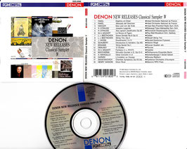 DENON New Releases Classical Sampler IV -CD- Japan GES-9168