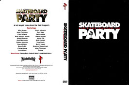 Skateboard Party - A Red Dragon Productions Film -DVD- Tony Hawk Thrasher
