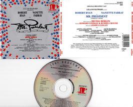 Mr. President - Original Broadway Cast -CD- Irving Berlin Sony Broadway SK 48212