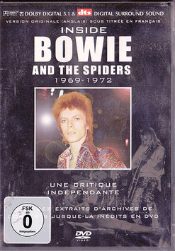 Inside Bowie And The Spiders -DVD- NEU/ OVP La Critique 1969 - 1972 David Bowie