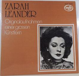 Zarah Leander - Originalaufnahmen einer grossen Künstlerin -LP- MFP 1M 046 - 28 539 M