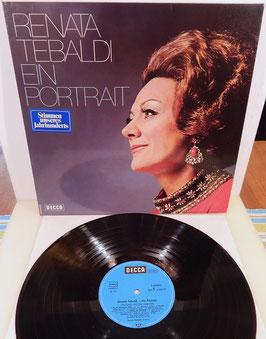 Renata Tebaldi - Ein Portrait -Vinyl-Doppel-LP- Decca 6.48084 DT
