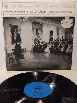 Casals Schneider Horszowski - A Concert At The White House -Vinyl-LP- BRG 72035