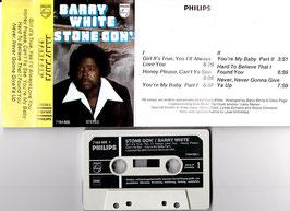 Barry White - Stone Gon´ -Kassette/ Tape- 7164 605 Soul Funk Disco