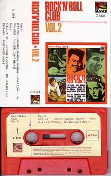V. A. - Rock´N´Roll Club Vol. 2 Kassette/ Tape Sunset C 5134