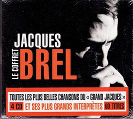 Jacques Brel - Le Coffret -4CD-Box- NEU/ OVP France