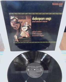 Alfred Deller Consort - Shakespeare Songs & Consort Music -Vinyl-LP- harmonia mundi