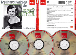 Les Introuvables de Marcelle Meyer -3CD-Box-  Box 1 CZS 7 67405 2 A