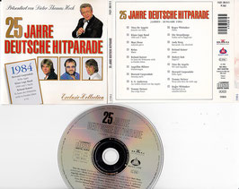 V. A. - 25 Jahre Deutsche Hitparade 1984 -CD- präsentiert von Dieter Thomas Heck