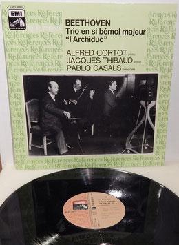 "Beethoven - Trio En Si Bémol Majeur ""l´Archiduc"" -Vinyl-LP- Cortot Thibaud Casals"