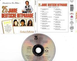 V. A. - 25 Jahre Deutsche Hitparade 1993 -CD- präsentiert von Uwe Hübner