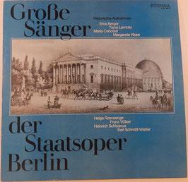 V. A. - Grosse Sänger der Staatsoper Berlin -Vinyl-LP- Eterna 8 21 873